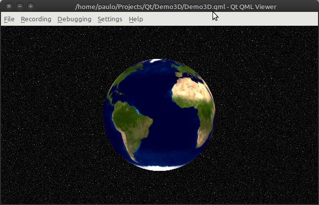 Qt/3D QML Demo