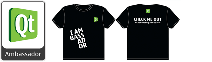 I'm a Qt Ambassador